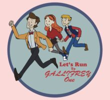 Let's Run to Gallifrey One Baby Tee