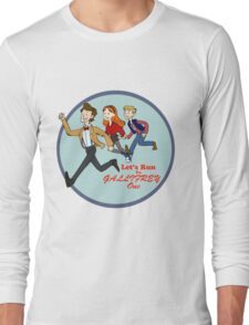 Let's Run to Gallifrey One Long Sleeve T-Shirt