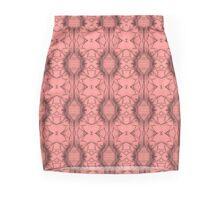 Crystal Rose Wave Mini Skirt
