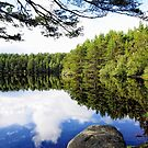 Peace and Reflection (Loch Reflection) by Karen  Betts