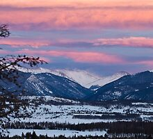Colorado Sunset by Jeanne Frasse