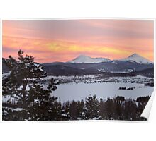 Sunset in Colorado Poster