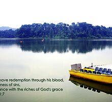 In Him, Pierce Water by William Yee Khai Teo