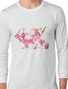 Sakura - Blue Mountain TEE Long Sleeve T-Shirt