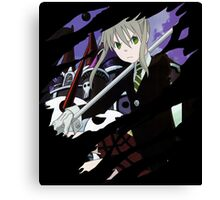 soul eater maka albarn anime manga shirt Canvas Print