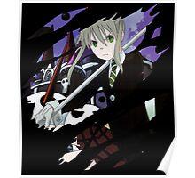 soul eater maka albarn anime manga shirt Poster