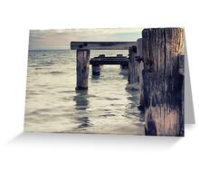Wood and Water Greeting Card