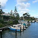 Mooring spot, Mordialloc Victoria by Maggie Hegarty