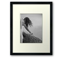 Touching Grace Framed Print