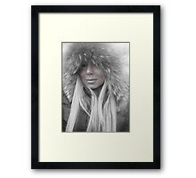 Winter doll! Framed Print