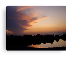 Ocean of Reflections Canvas Print