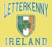 Letterkenny, Ireland with Shamrock Kids Tee