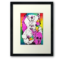 Bubbleghost Framed Print