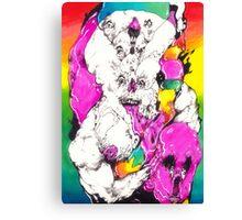 Bubbleghost Canvas Print