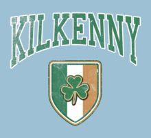 Kilkenny, Ireland with Shamrock Kids Tee