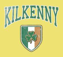Kilkenny, Ireland with Shamrock Baby Tee
