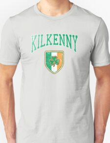 Kilkenny, Ireland with Shamrock Unisex T-Shirt