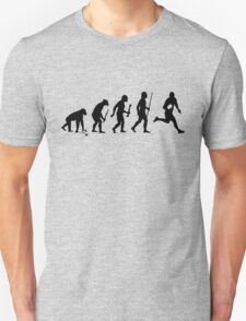 Evolution of Man and Rugby T-Shirt