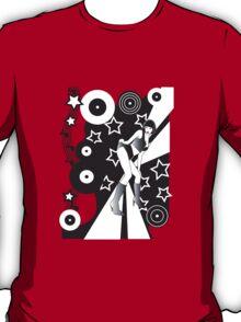 Retro Glam Discoteque T-Shirt