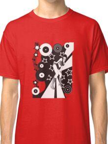 Retro Glam Discotheque Red Classic T-Shirt
