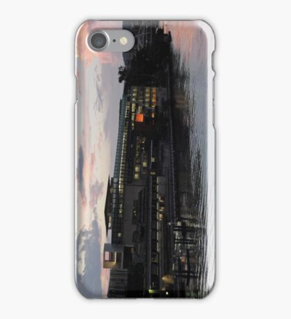 State Library of Queensland at sunset iPhone Case/Skin