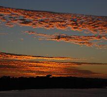 Sunset from Point Heathcote, WA by Sandra Albin