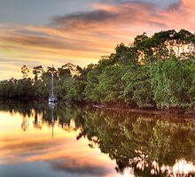 Sunset - Coquette Point - Nth Qld by Frank Moroni