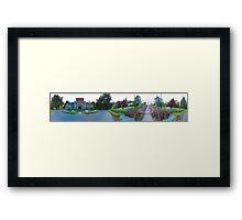 Royal Road's (panorama) Framed Print
