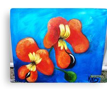 BACON AND EGG ORCHID Canvas Print