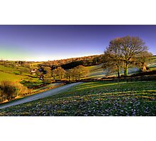Exmoor Valley Photographic Print