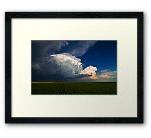 The Oklahoma Panhandle Framed Print