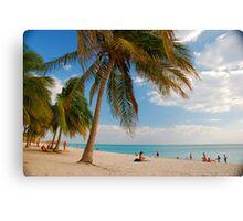 Playa Ancon Canvas Print