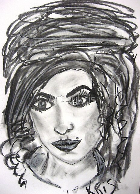 AMY WINEHOUSE by Artbykris