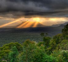You Raise Me Up - Capertee Valley,West Of Sydney  Australia - The HDR Experience by Philip Johnson