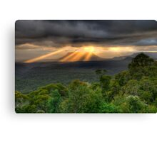 You Raise Me Up - Capertee Valley,West Of Sydney  Australia - The HDR Experience Canvas Print