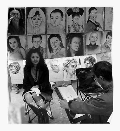 Sketch Artist... Poster
