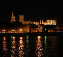 Avignon by night by Joeblack