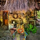 The chair at the Lavender farm by Hans Kawitzki