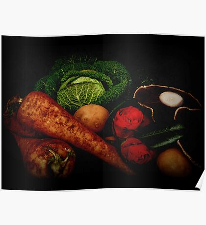 Still Life of Vegetables Poster