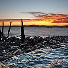 Holy Island Sunset by Doug Dawson