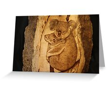 Koala Mum & Bub Greeting Card