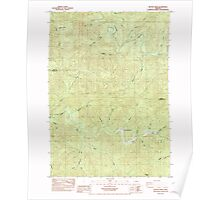 USGS Topo Map Oregon Beaver Creek 278972 1984 24000 Poster