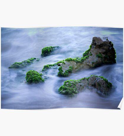 Misty Ocean Poster
