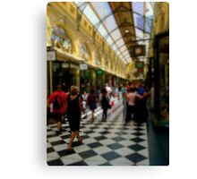 The Royal Arcade Canvas Print