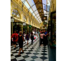 The Royal Arcade Photographic Print
