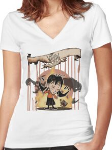 Don't Starve- Willow Women's Fitted V-Neck T-Shirt