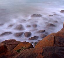 The Misty Cliffs - Crowdy Head - 5am. by Jason Allan