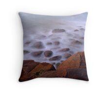 The Misty Cliffs - Crowdy Head - 5am. Throw Pillow