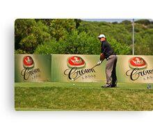 (1) The Address - Torquay Sands Golf Club Canvas Print