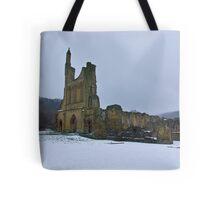 Winter at Byland Abbey Tote Bag